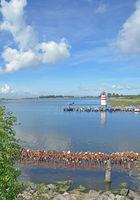 Ummanz Island near Waase,Baltic Sea,Germany