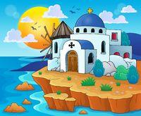 Greek theme image 6 - picture illustration.