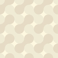 Simple geometric pattern - abstract shapes retro background