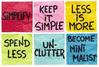simplify concept note set