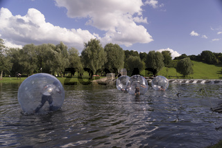Olympic Lake in Munich