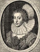 Elizabeth Stuart, the Winter Queen, 1596 - 1662