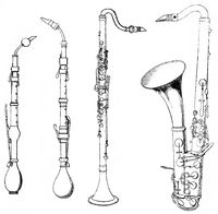 old and new forms of the clarinet