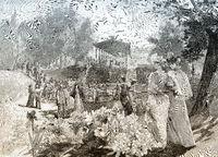 Spa of  Bad Homburg, 19th century, Germany