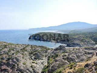 Mediterranean coastline in Cap de Creus, Spain