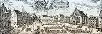 Nuremberg, Hauptmarkt, 16th century