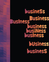business triangle colorful vector
