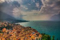 Malcesine at Lake Garda, Italy