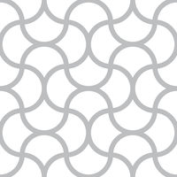 Seamless pattern - simple geometric lines on white square background