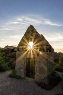 Ruine in der Bretagne