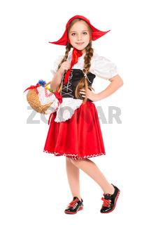 Girl posing in a dress