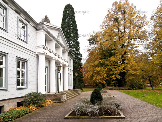 historical Garden Bad Nenndorf, Germany