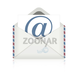open envelope email