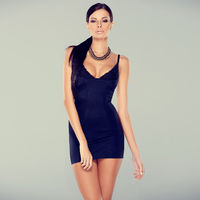 Adorable glamour woman in sexy dress