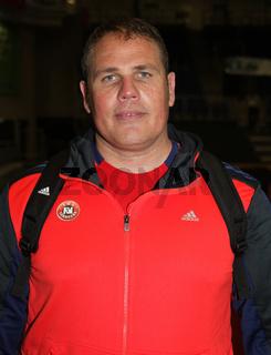 ehemaliger deutscher Handballspieler und zz Trainer Dirk Beuchler TuS N-Lübbecke,DHB