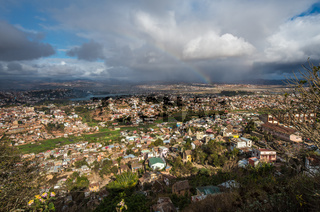 Panorama of Antananarivo city, Madagascar capital