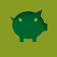 Eco Piggy Bank Hole PiAd