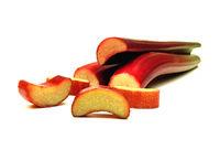 pie plant (Rheum rhabarbarum)