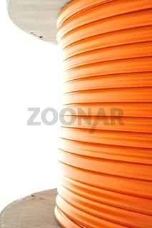 Kabelrolle Glasfaserkabel  hochformat