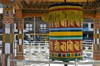Buddhist prayer mill, Bhutan