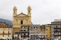 Bastia, San Baptiste Church, old town, Corsica