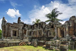 Phnom Chisor temple in Cambodia