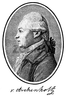 Johann Wilhelm Daniel von Archenholz or Archenholtz, 1741 - 1812, a Prussian officer, writer and publisher,