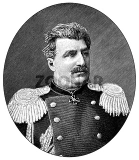 Nikolai Mikhaylovich Przhevalsky, 1839 - 1888, Russian geographer and explorer of Central and Eastern Asia