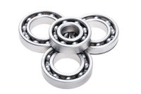 chrome bearing on white