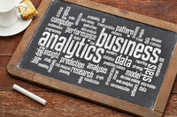 business analytics word cloud