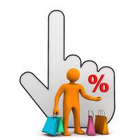Online Shopping Manikin