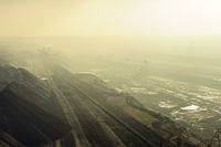 Mining Garzweiler in the fog