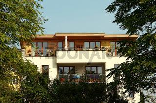 Modernes Wohnhaus Berlin Deutschland