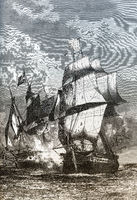 Fight of  British frigate Arethusa and the  French frigate Belle Poule on 17 June 1778