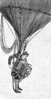 war photographer gas balloon