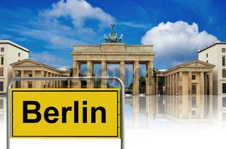 Brandenburg gate , berlin, germany