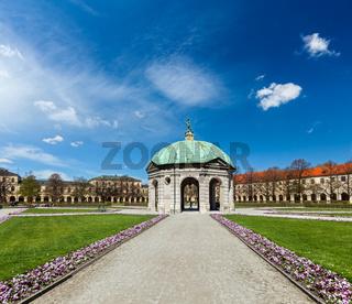 Pavilion in Hofgarten. Munich