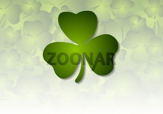 St. Patricks Day abstract vector background
