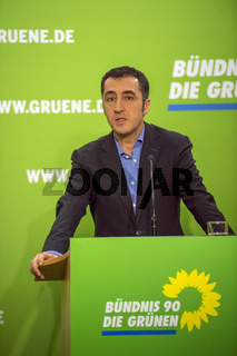 The new President of the Greens gives first press conference
