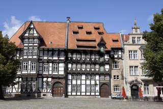 Burgplatz square, Brunswick, Lower Saxony, Germany