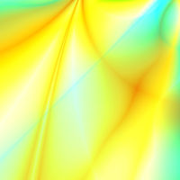 abstract smoothed lines and gradients of yellow co
