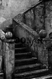 Stein Treppe