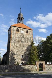 Feldsteinkirche in Gross Machnow, Brandenburg, Deutschland