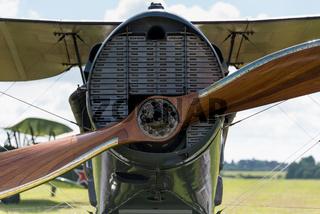Vintage British Bristol F2B aircraft