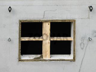 Kellerfenster Aussparung