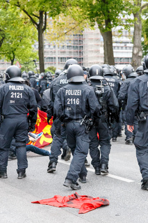 May Day 2014 in Hamburg