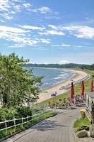 Beach of Sellin,Ruegen Island,Germany
