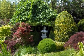 Japanischer, Garten,