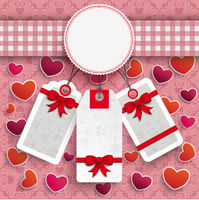 Emblem Hearts Cloth Valentinesday Price Stickers Ornaments PiAd
