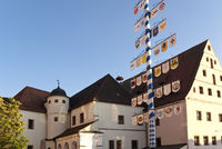 In the old Town of Neustadt in Germany